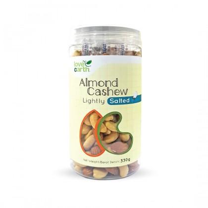 Lightly Salted Almond Cashew 330g