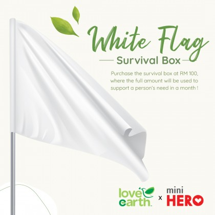 Love Earth x Mini Hero【White Flag Survival Box】